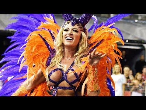 São Paulo Carnival 2018 [HD] - Floats & Dancers | Brazilian Carnival | The Samba Schools Parade