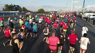 Havadan Vodafone İstanbul Maratonu