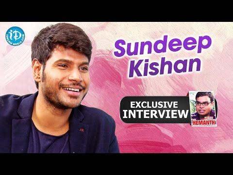 Sundeep Kishan Exclusive Interview || Talking Movies with iDream #171