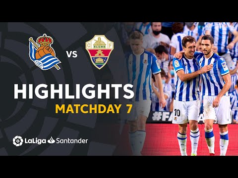 Real Sociedad Elche Goals And Highlights