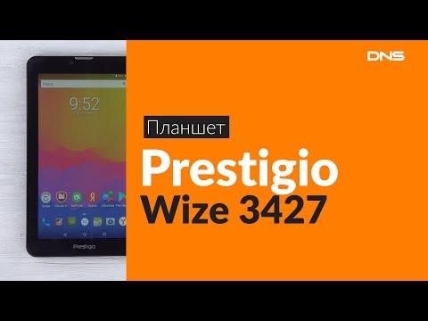 Распаковка планшета Prestigio Wize 3427 / Unboxing Prestigio Wize 3427