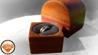 Engagement Ring Box - Jackman Carpentry