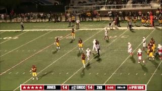 #2 EMCC Football vs Jones County - 1st Half