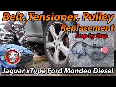 Jaguar X Type or Ford Mondeo tdci Auxiliary Belt Tensioner