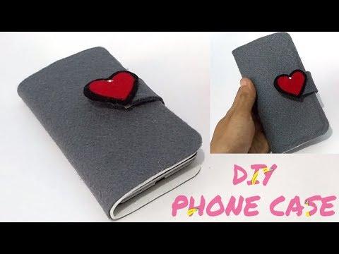 Cara Mudah Membuat Phone Case/ Cover hp || DIY Casing Hp dari Kain Flanel