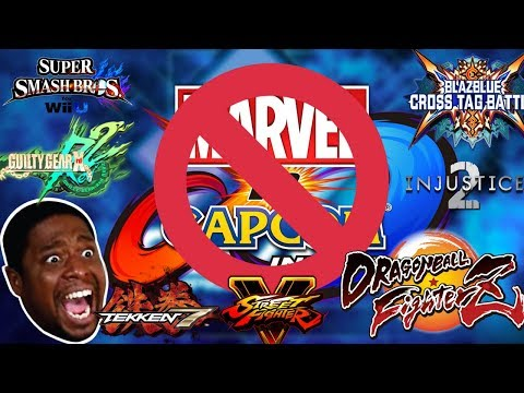 How EVERYONE reacted to the EVO 2018 Line up.