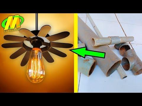 Lampu Cafe Terbuat Dari Pipa Air-bisnis Rumahan