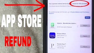 Gambar cover ✅  How To Get Apple iTunes App Subscription Refund 🔴