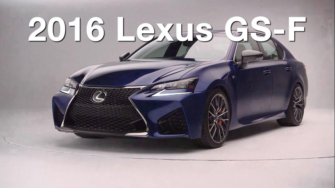 2016 lexus gs f redline first look 2015 detroit auto show youtube. Black Bedroom Furniture Sets. Home Design Ideas