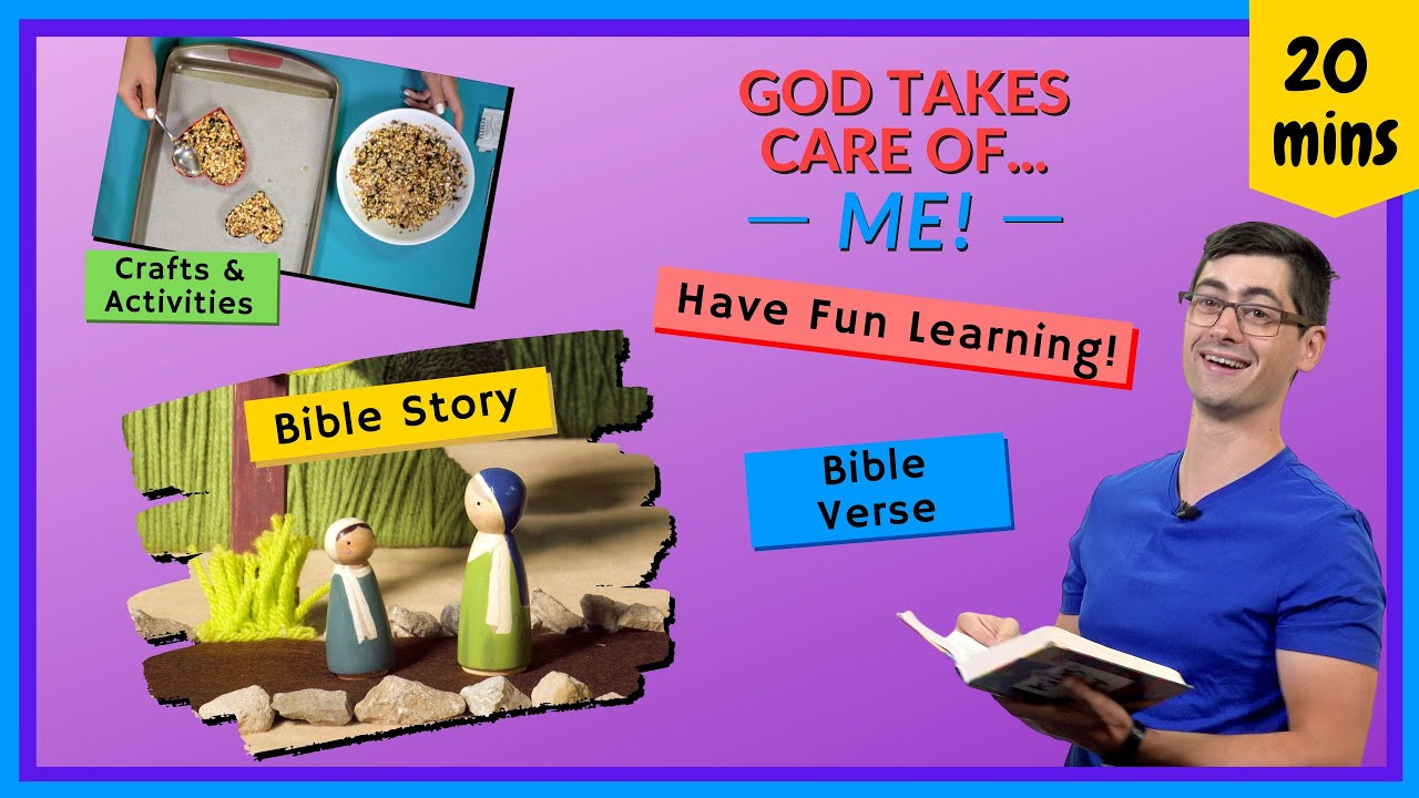 God Takes Care of Me! (Bible Learning, How to Trust God)
