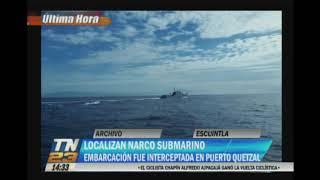 Encontraron un narco submarino