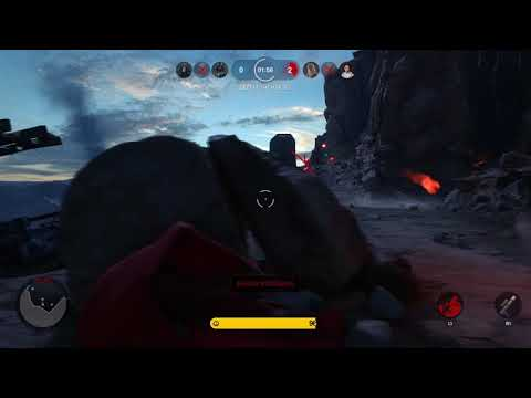 STAR WARS Battlefront  homing shot is pure evil