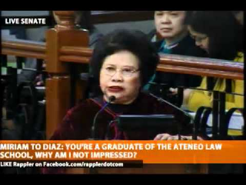 Miriam berates LRA Admin Diaz