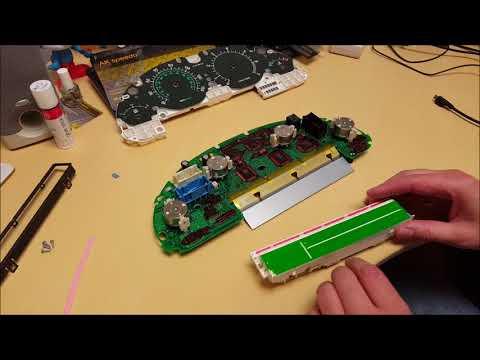 Range Rover Speedometer LCD Pixel Repair Full replacement LCD screen