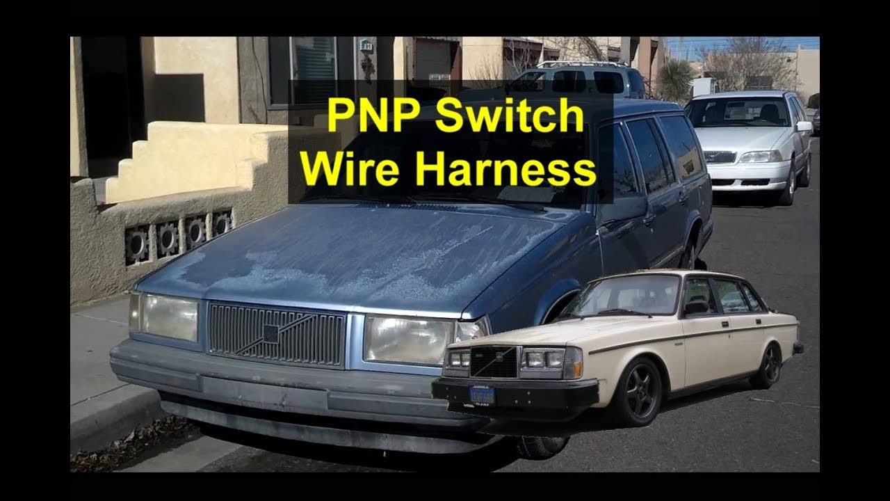 medium resolution of how to fix the plug end on a new pnp switch wire harness repair for volvo 940 740 240 etc votd