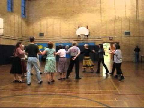 """Karagouna"" Greek Dance at International Folk Dance Club, Toronto"