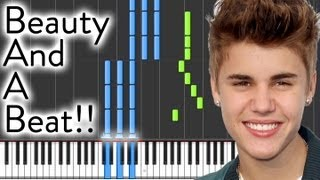 Justin Bieber - Beauty And A Beat - PIANO!