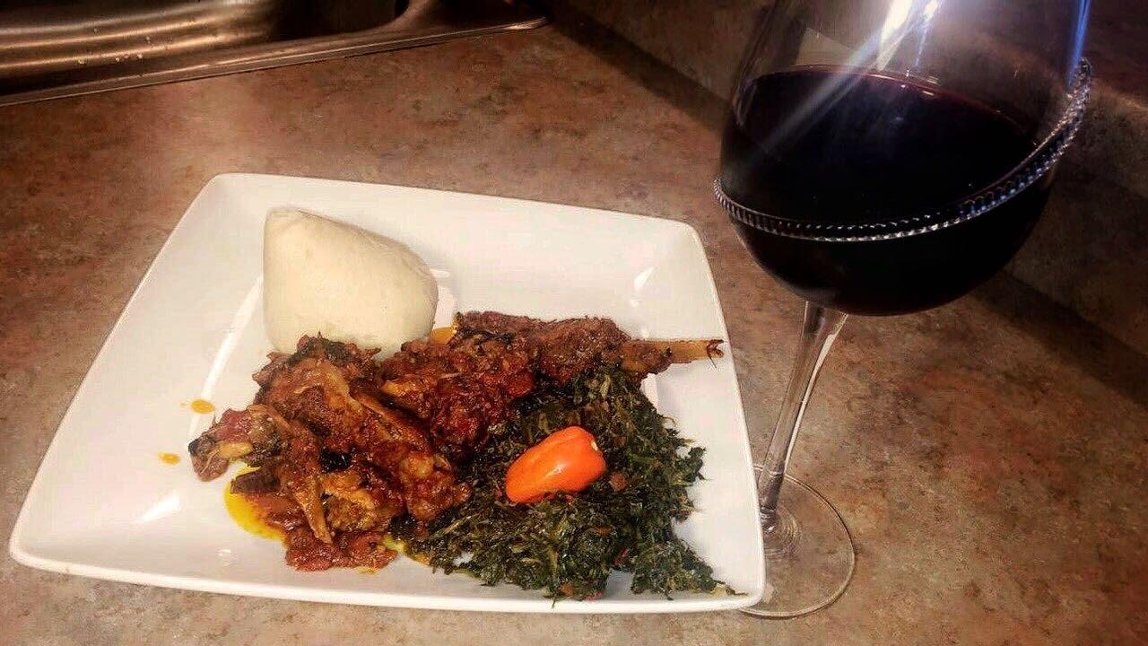 ?? Fufu and Khati khati// Cooking with Voluntas//African meal//Foodie