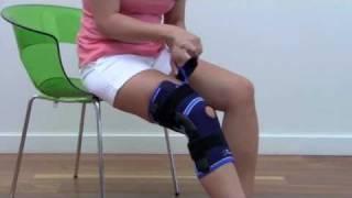 deroyal pro sport knee brace with metal stays from optomo