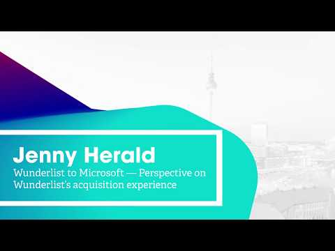 On Product #12 – Jenny Herald: Perspective on Wunderlist's acquisition experience