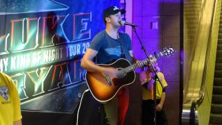 "Luke Bryan ""Play it Again"" Acoustic"