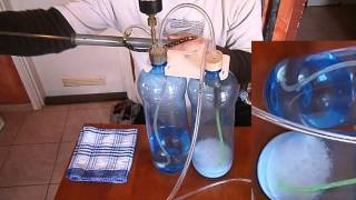 DIY CO2 kit citric acid and baking soda... COMFORT UPGRADE !