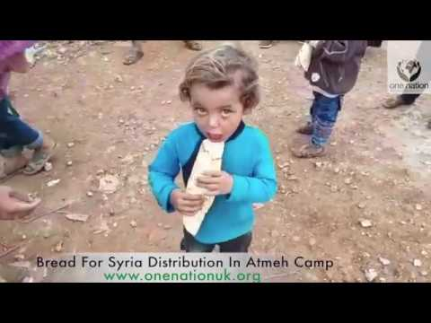 Bread for Syria Distribution in Atmeh Camp~October 2018~