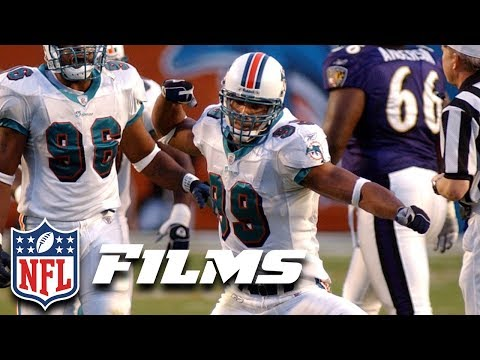 Jason Taylor's Hall of Fame Profile: 7th Most Sacks in NFL History | NFL Films