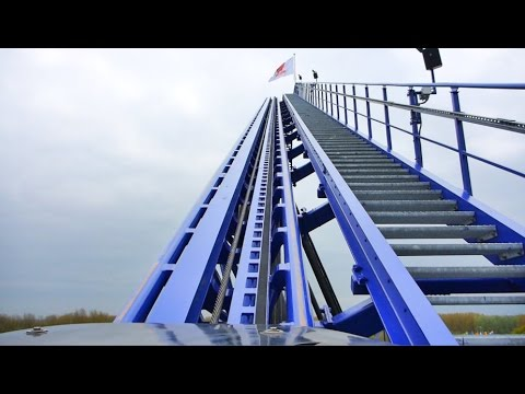 Goliath (BLAUW) Onride (2017) - Walibi Holland