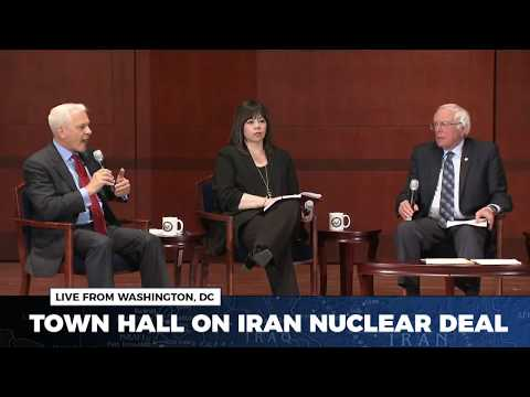 Sen. Bernie Sanders Hosts a Town Hall on the Iran Nuclear Deal
