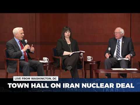 Sen. Bernie Sanders Hosts a Town Hall on the Iran Nuclear Deal