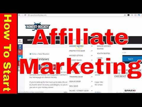 How To Start Affiliate Marketing With Amazon - Examples Inside