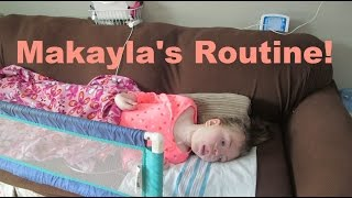 Makayla's Daily Rountine! | Our Lives, Our Reasons, Our Sanity