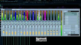Nagin - Trance Remix - Exclusive view of Project from FL Studio 10 Official
