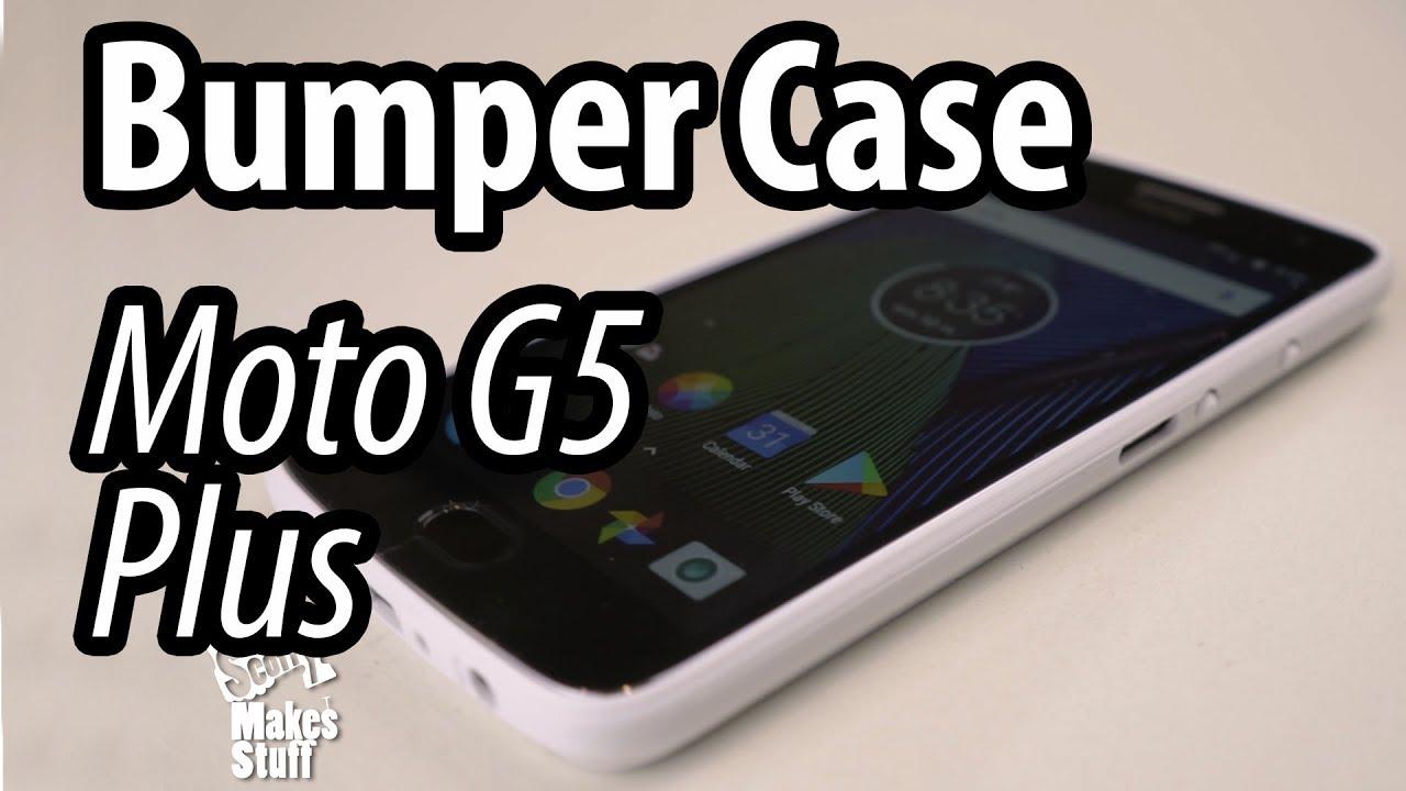 sale retailer bb6e5 419a0 Bumper Case for Motorola Moto G5 Plus - 3D Printed