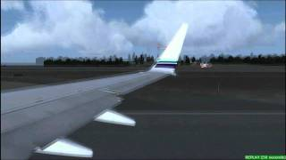 FS2004 737-800WL Alaska Airlines Seattle Tacoma to San Diego