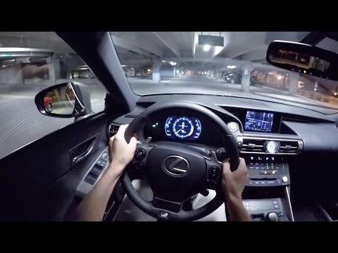 2015 Lexus IS350 F Sport - WR TV POV Night Drive