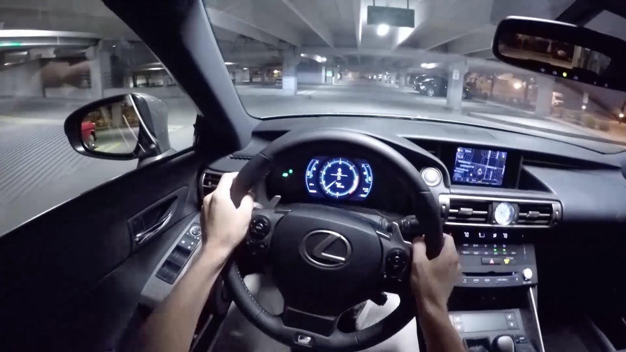 2015 Lexus Is350 F Sport Wr Tv Pov Night Drive Youtube