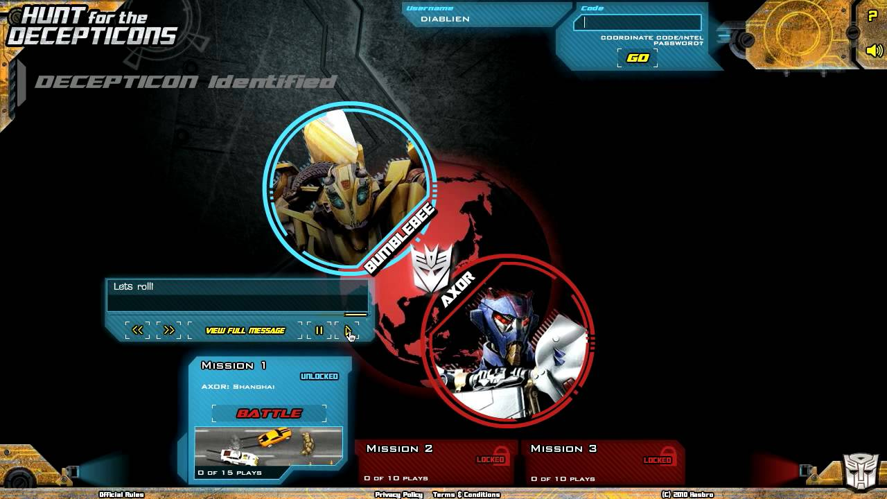 Transformers hunt for the decepticons online video game for Axor transformers