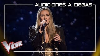 Noelia Cano - 'Cry me out' | Blind Auditions | The Voice Of Spain 2019