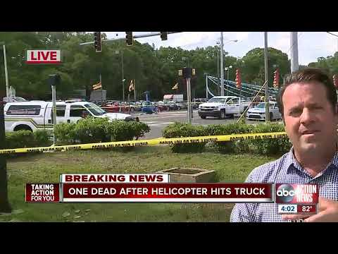 Mychal Maguire - Helicopter Crashes Onto Busy Tampa Highway