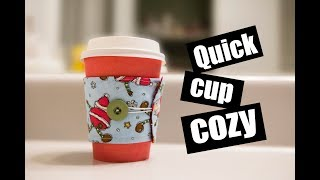 Quick cup Cozy! Vlogmas Day 2