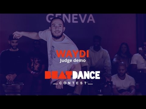 Beatdance Contest 2017 GENEVA - Judge demo - Waydi (CriminalZ crew)