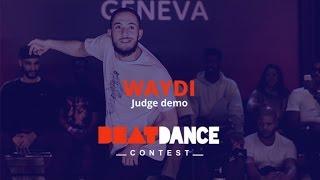 Waydi w pokazie sędziów na Beatdance Contest 2017