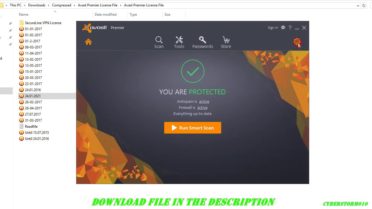 ✓(May 2016)Avast Premier 2016 FREE Install + License File Until 2017✓