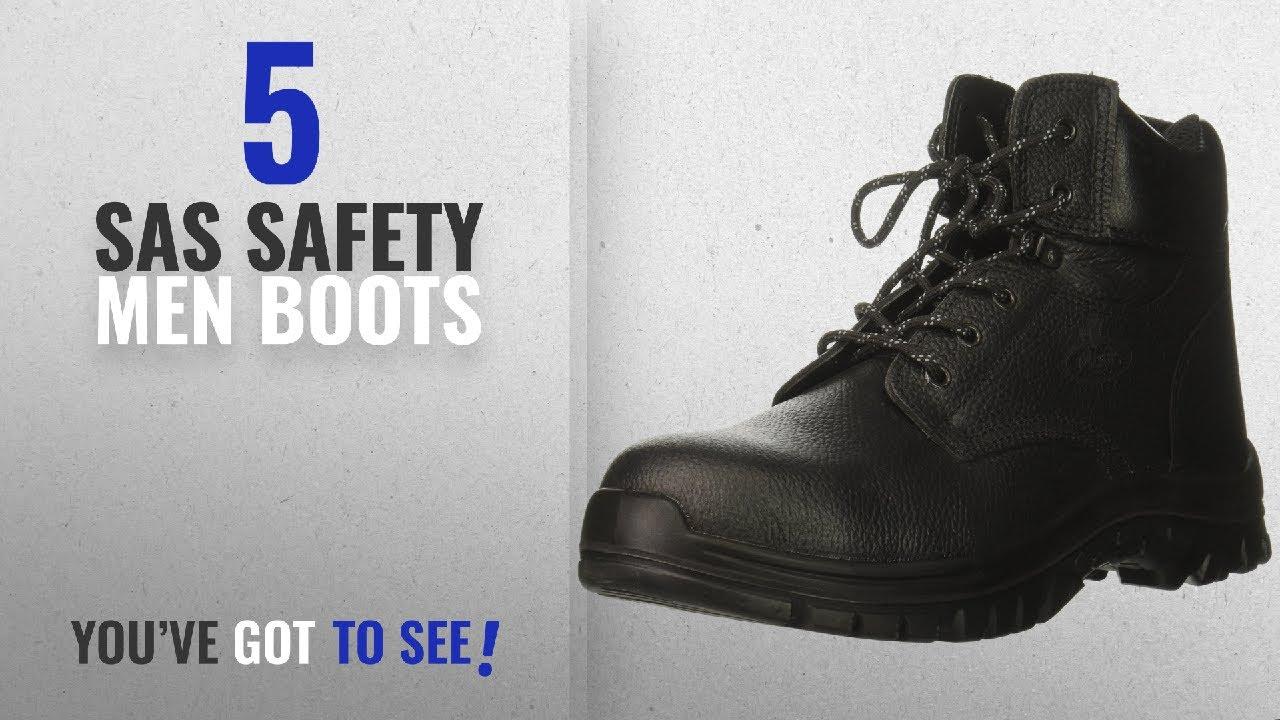 215ccfab656ed Top 10 Sas Safety Men Boots [ Winter 2018 ]: SAS Safety E93812141 Tradesman  Men's Safety Boot, Size