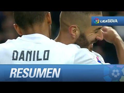 Resumen de Real Madrid (10-2) Rayo Vallecano
