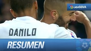 Resumen de Real Madrid (10-2) Rayo Vallecano