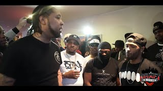 CHARLIE CLIPS AND DNA DRAFT NIGHT 1 UNRELEASED BATTLE (LIL NAY VS DOMINANCE)