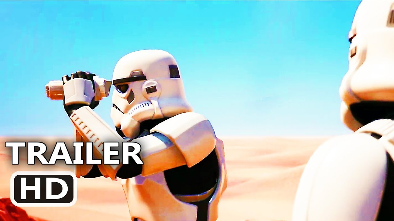 Ps4 Fortnite Imperial Stormtrooper Trailer 2019